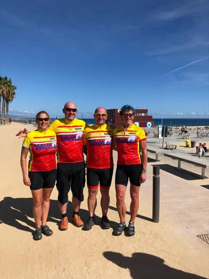 Charity Bike Ride Completed
