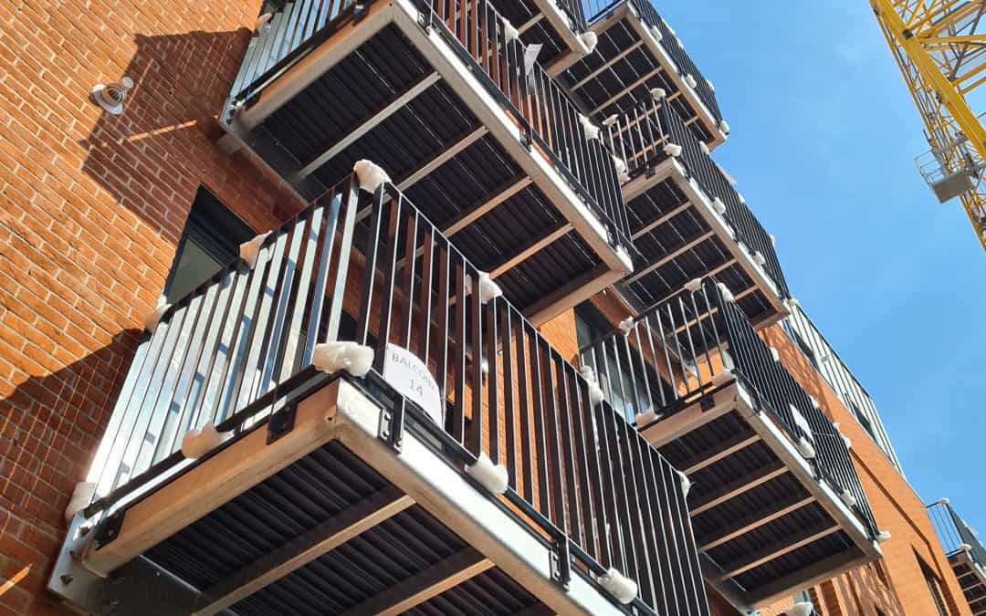 Cantilevered Balconies
