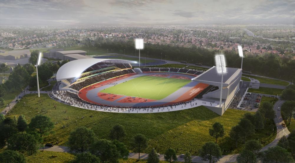 Alexander Stadium – McLaughlin and Harvey Project