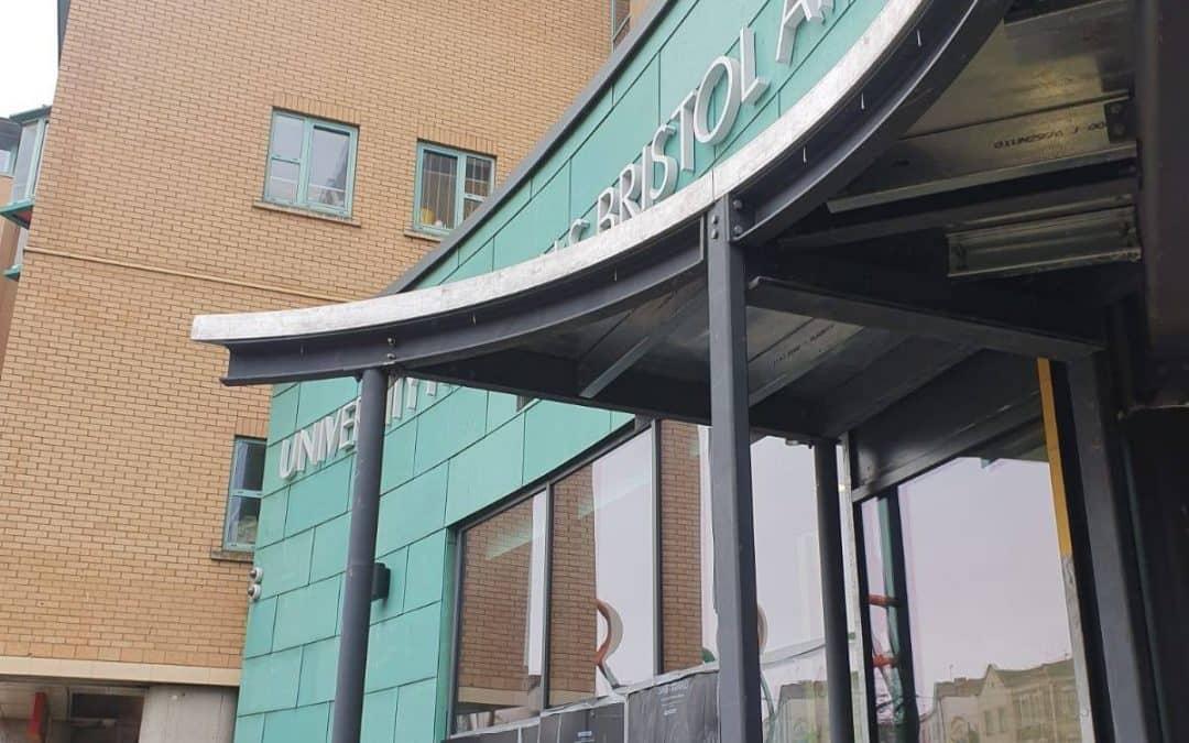 New Hospital Entrance