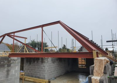 Roof Supporting Steel Work