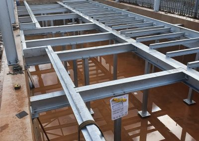 Trench Steelwork