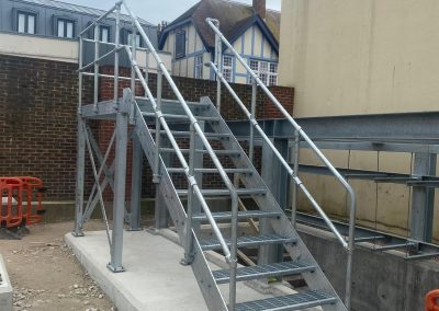 Galvanised Staircases