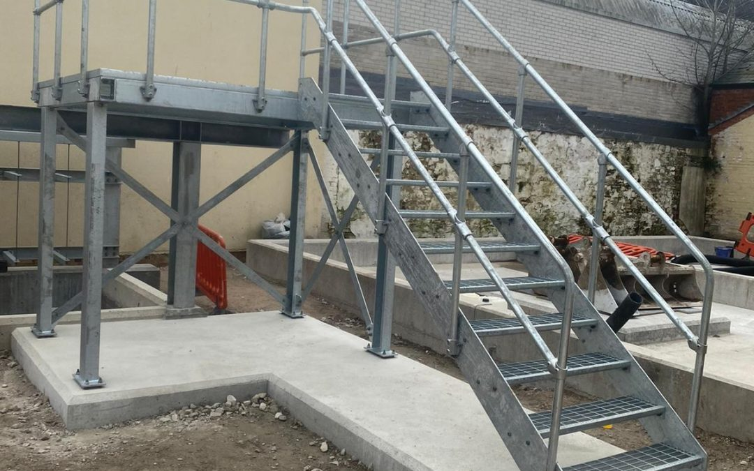 Galvanised Staircase