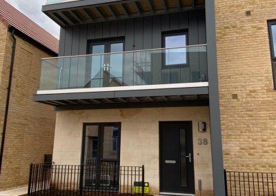 Balcony Framework & Structural Glass Balustrade