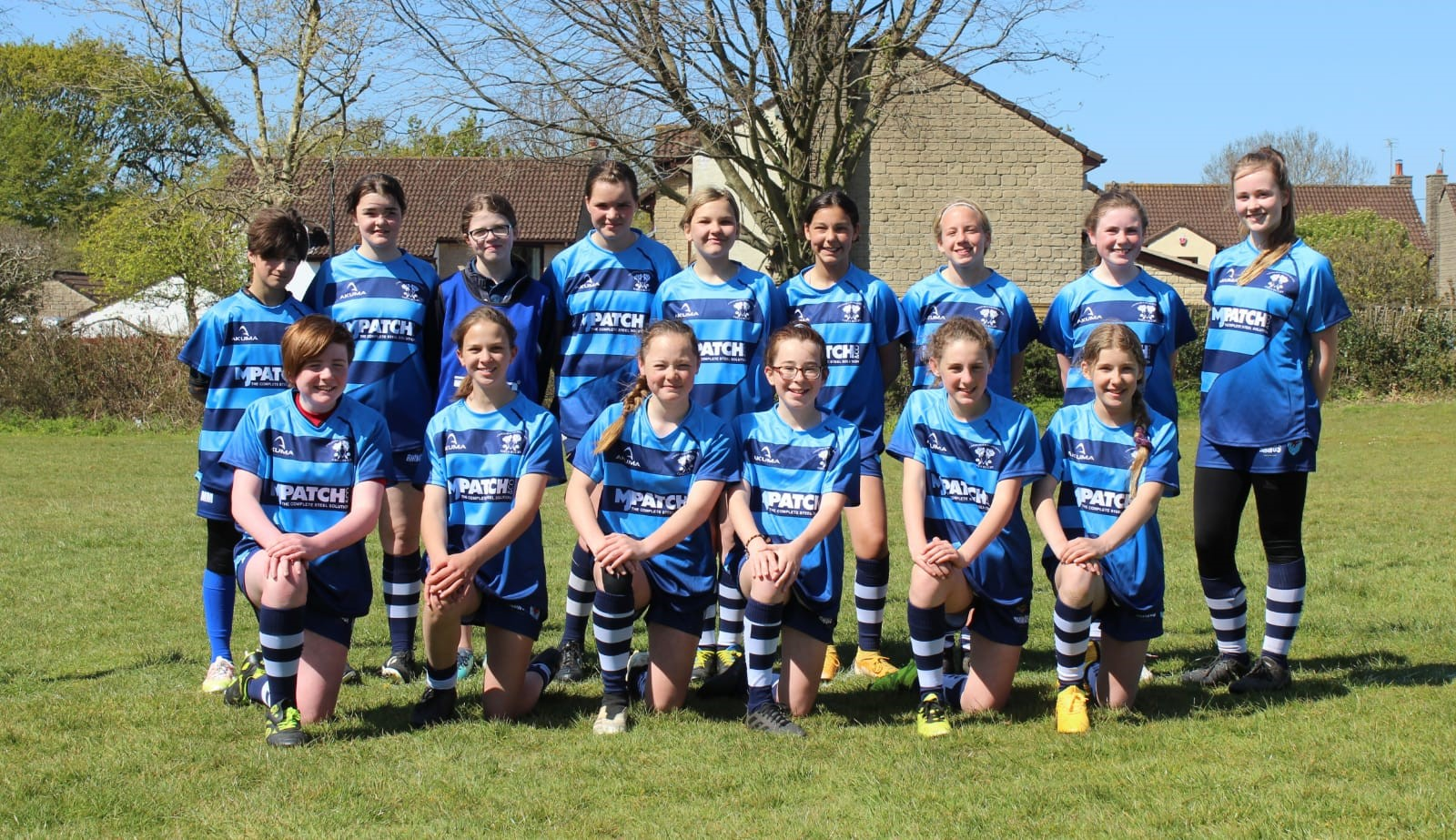 MJ Patch Proudly Sponsor the Cheddar & Weston Roses U13's!
